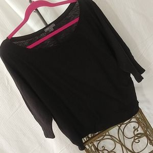 Vince dolman sleeve knit top/sweater
